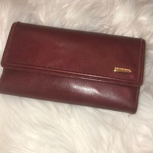 Fossil leather wallet great condition
